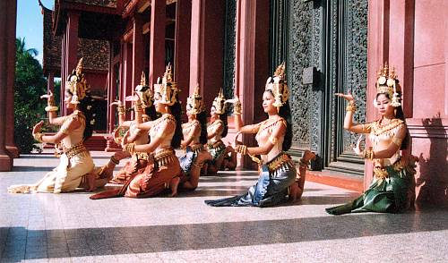 Royal ballet of Cambodia - intangible heritage - Culture