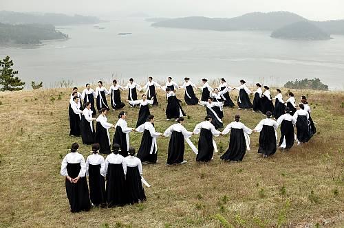Ganggangsullae performed at the place of its origin