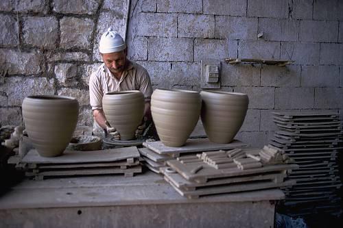 Fabrication de poêles à bois à Rachaya dans la vallée de la Békaa