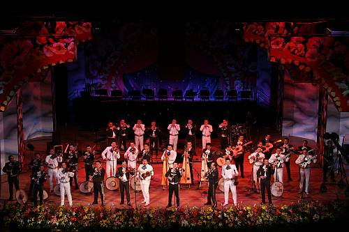 Mariachi, string music, song and trumpet - intangible