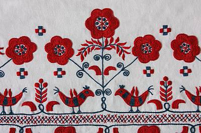 Folk Art Of The Matyo Embroidery Of A Traditional Community Intangible Heritage Culture Sector Unesco