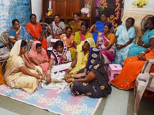 Bhojpuri folk songs in Mauritius, Geet-Gawai - intangible heritage