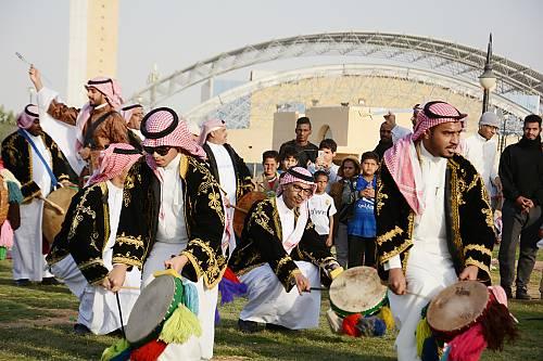 Alardah Alnajdiyah, dance, drumming and poetry in Saudi