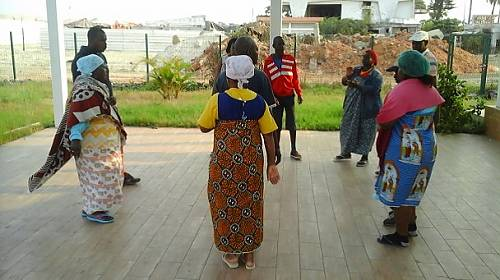Traditional group from the community of the Island of Luanda