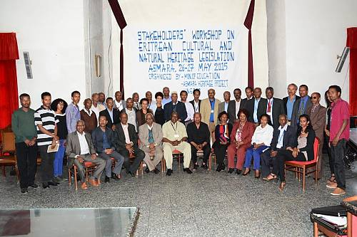 Eritrean Legislation workshop group