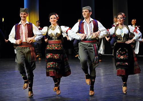 Kolo, traditional folk dance - intangible heritage - Culture