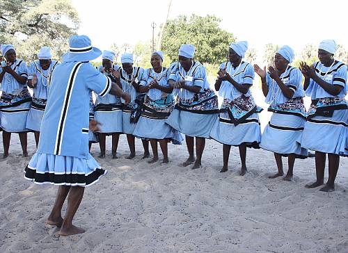 Seperu folk dance, associated traditions and practices of the Basubiya community in Botswana's Chobe District
