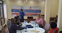 Local stakeholders in Goma approve the community-based needs identification exercise for the safeguarding of intangible cultural heritage in Nord-Kivu