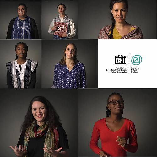 Seven young people featured in the ICH and Youth video series