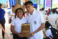 Jóvenes náhuats de El Salvador contribuyen a la salvaguardia del su patrimonio cultural inmaterial