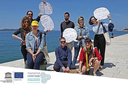 Join the upcoming open Webinar on European Youth and Heritage being held on 23 April 2021 from 14:00 to 15:30 Paris time